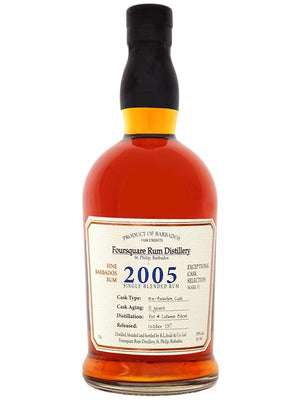 Foursquare 2005 Single Blend 12 year Rum - CaskCartel.com