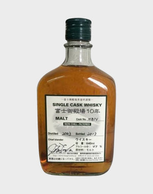 Fuji Gotemba 10 Year Old Single Cask Whisky | 640ML at CaskCartel.com