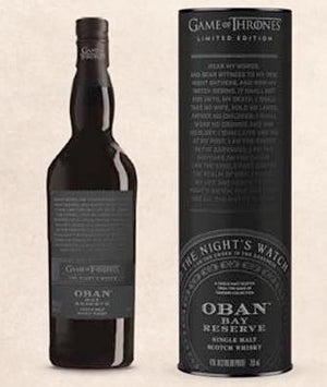 GAME OF THRONES | The Night's Watch Oban Bay Reserve Limited Edition 3 - CaskCartel.com