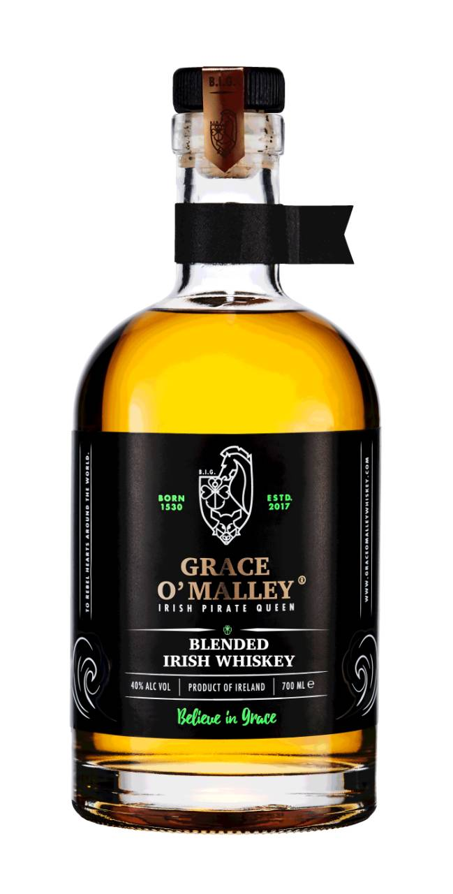 Grace O'Malley Irish Pirate Queen Blended Irish Whiskey