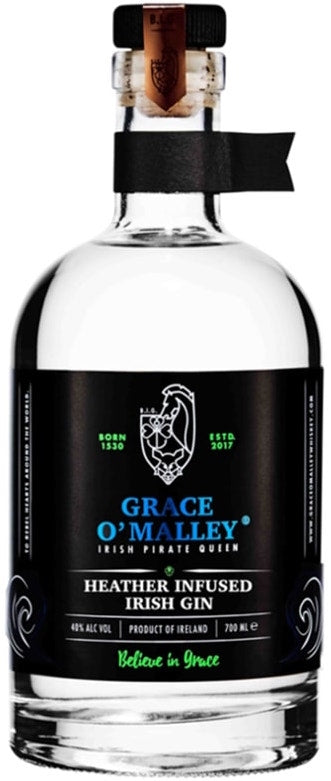 Grace O'Malley Irish Pirate Queen Heather Infused Irish Gin