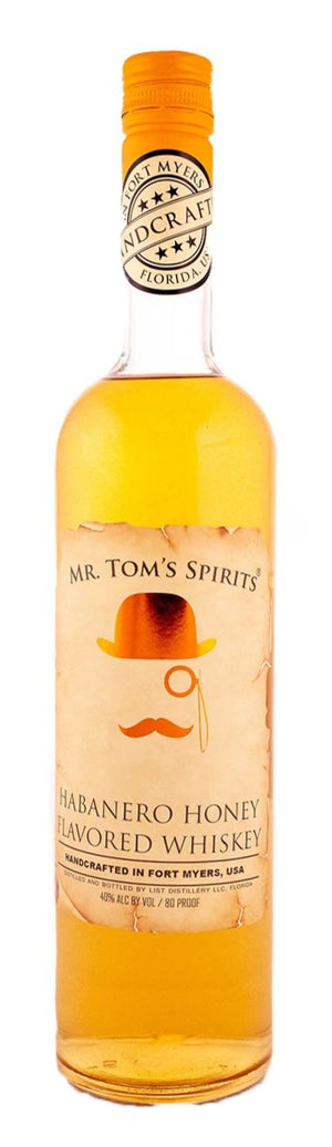 Mr. Tom's Habanero Honey Whiskey - CaskCartel.com