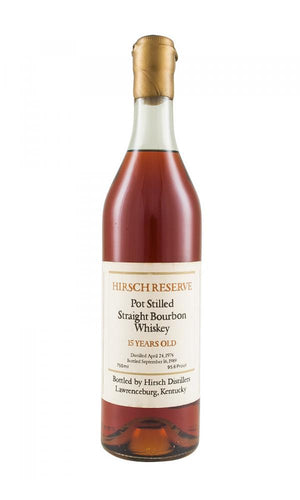 A.H. Hirsch 15 Year Pot Still Straight Bourbon Whiskey - CaskCartel.com