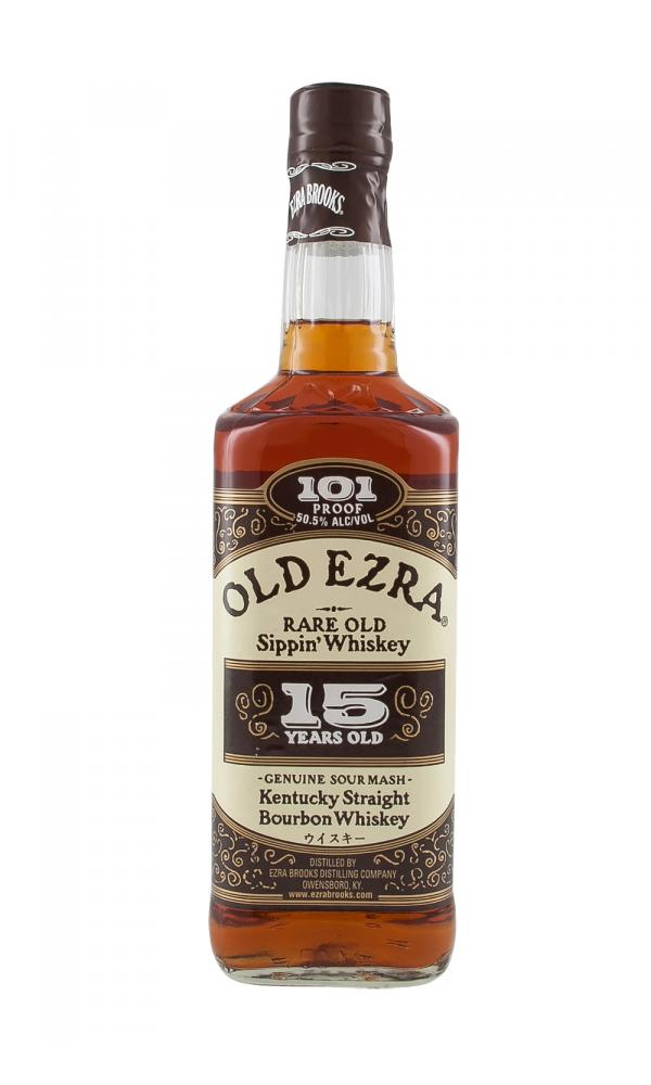 Old Ezra 15 Year Old Straight Bourbon Whiskey