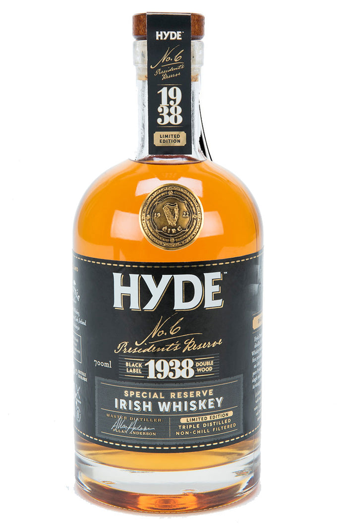 Hyde No. 6 Presidents Cask '1938' Special Reserve Irish Whiskey