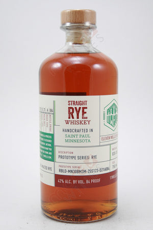 11 Wells Prototype Series Straight Rye Whiskey - CaskCartel.com