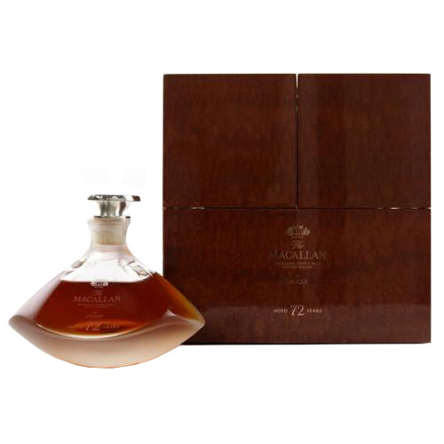 Macallan 72 Year Old Lalique Genesis Decanter Speyside Single Malt Scotch Whisky