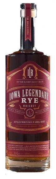 Iowa Legendary Rye Private Reserve Whiskey (Red)