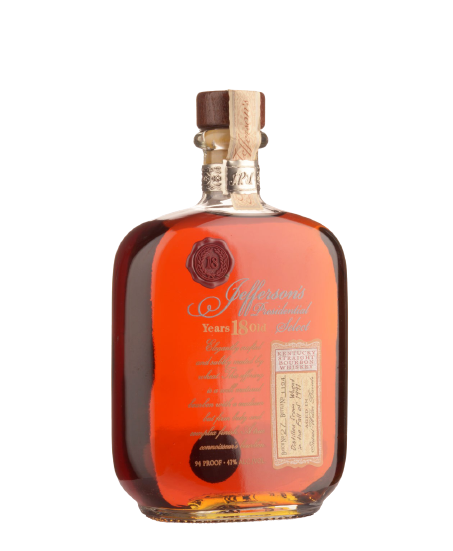 Jefferson's Presidential 18 Year Old Select Batch No. 27 Kentucky Straight Bourbon Whiskey