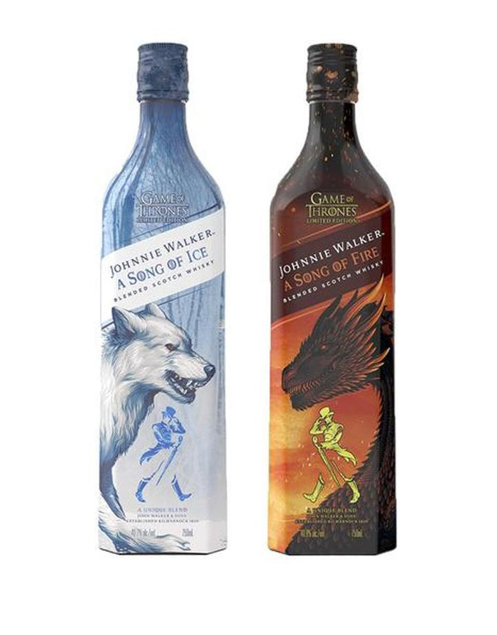 Game of Thrones | Johnnie Walker A Song of Fire & Ice Bottle Set