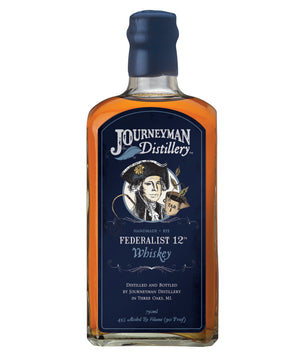 Journeyman Distillery Federalist 12th Organic Rye Whiskey - CaskCartel.com