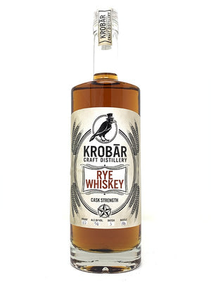 Krobar Cask Strength 112 Proof Rye Whiskey - CaskCartel.com