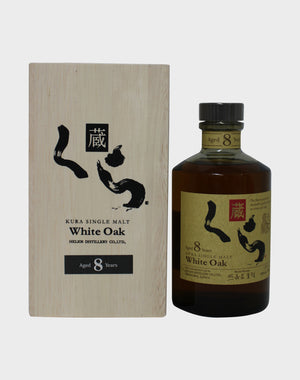 Kura Single Malt White Oak 8 Year Old Whisky - CaskCartel.com
