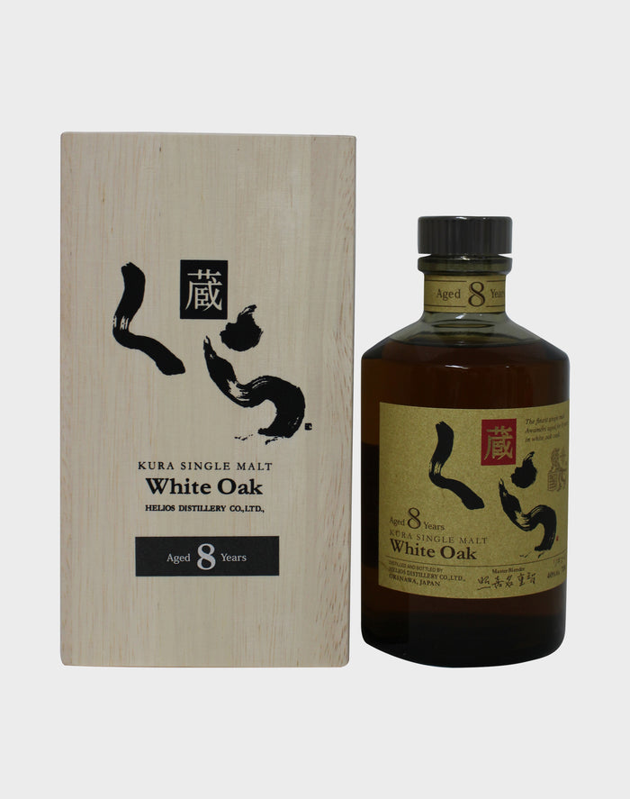 Kura Single Malt White Oak 8 Year Old Whisky