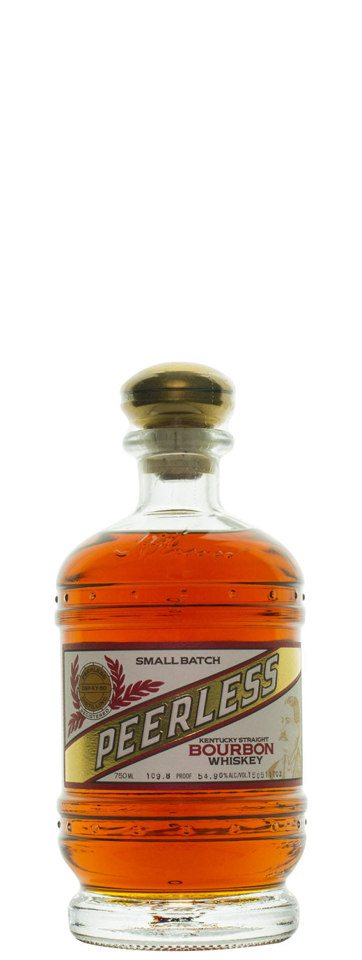 Peerless Small Batch Barrel Proof Inaugural Release 109.8 Proof Kentucky Straight Bourbon Whiskey