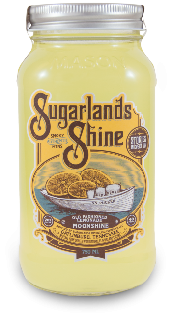 Sugarlands Shine Old Fashioned Lemonade Moonshine