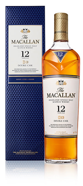 The Macallan Double Cask 12 Year Old Highland Single Malt Scotch Whisky at CaskCartel.com