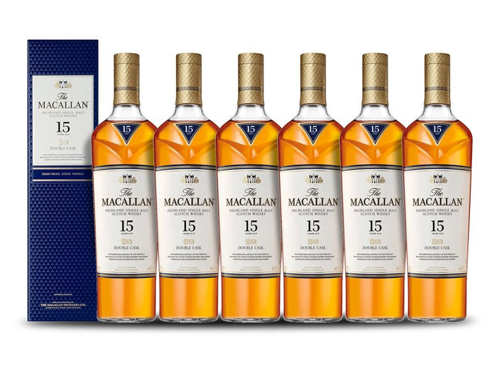 The Macallan Double Cask 15 Years Old (6) Bottle Case