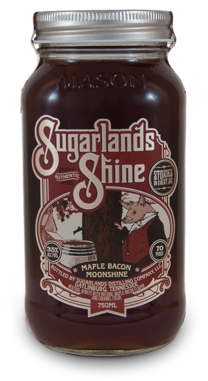 Sugarlands Shine Maple Bacon Moonshine - CaskCartel.com