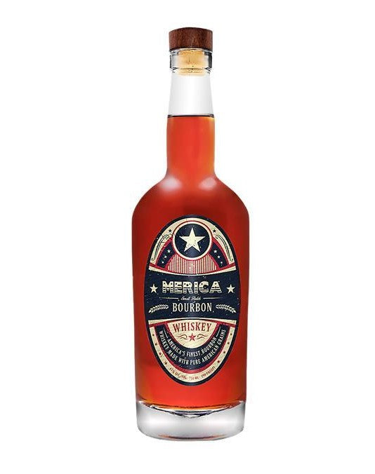 Merica Small Batch Bourbon Whiskey