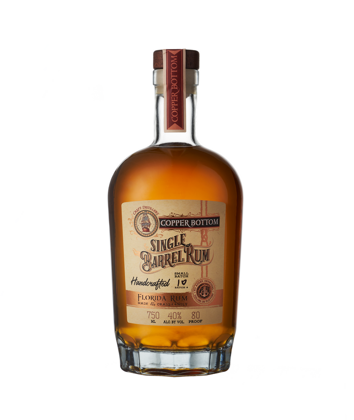 Copper Bottom Single Barrel Rum