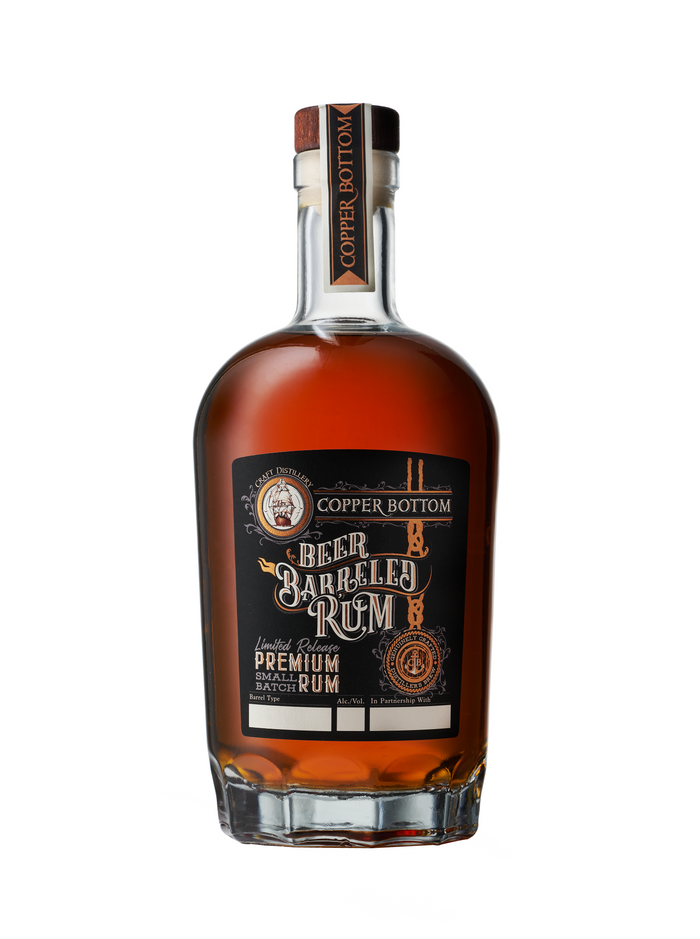 Copper Bottom Beer Barreled Rum