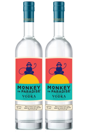 Monkey In Paradise Vodka 2 Bottle Bundle at CaskCartel.com
