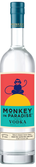 Monkey In Paradise Vodka at CaskCartel.com
