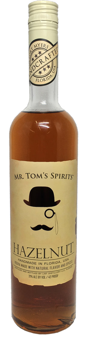 Mr. Tom's Spirits Hazelnut Vodka - CaskCartel.com