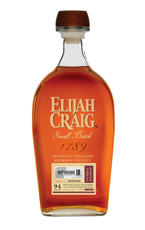 "Elijah Craig 10 Year Single Barrel ""NOTORIOUS 10"" Limited Release - CaskCartel.com"
