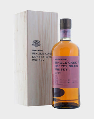 Nikka Single Cask Coffey Grain 1999 Whisky - CaskCartel.com