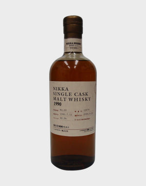 Nikka Single Cask Malt 1990 Whisky - CaskCartel.com