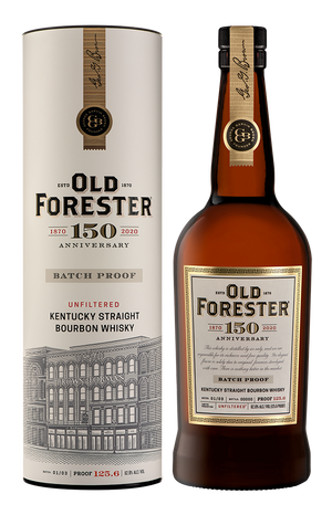 Old Forester 150th Anniversary Batch Proof Kentucky Straight Bourbon Whiskey