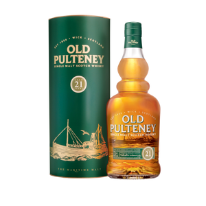 Old Pulteney 21 Year Old Single Malt Scotch Whisky - CaskCartel.com