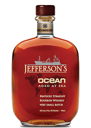 Jefferson's Ocean Special Wheated Voyage 22 Straight Bourbon Whiskey at CaskCartel.com