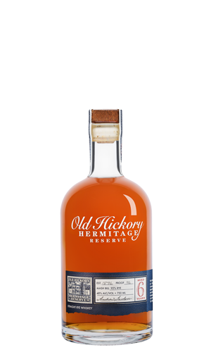 Old Hickory 6 Year Hermitage Reserve Rye Whiskey Limited Edition