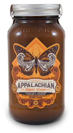 Sugarlands Appalachian Sippin' Cream Electric Orange Cream Liqueur - CaskCartel.com