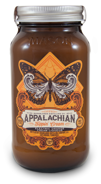 Sugarlands Appalachian Sippin' Cream Electric Orange Cream Liqueur