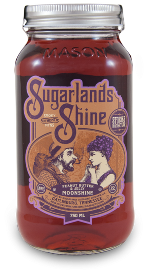 Sugarlands Shine Peanut Butter and Jelly Moonshine - CaskCartel.com