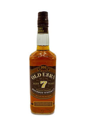 Ezra Brooks Old Ezra 7 Year Old Barrel Strength Bourbon Whiskey CaskCartel.com
