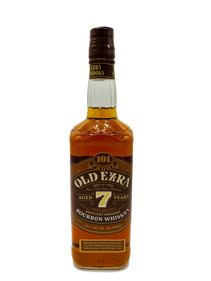 Old Ezra 7 Year Old Straight Bourbon Whiskey