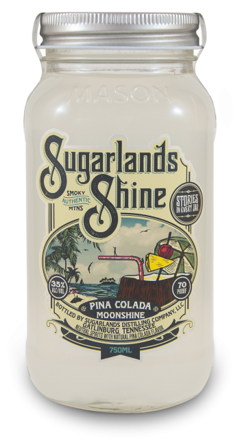Sugarlands Shine Pina Colada Moonshine