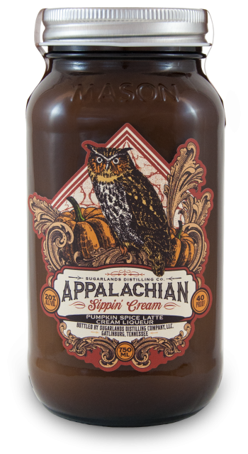 Sugarlands Appalachian Pumpkin Spice Latte Sippin' Cream