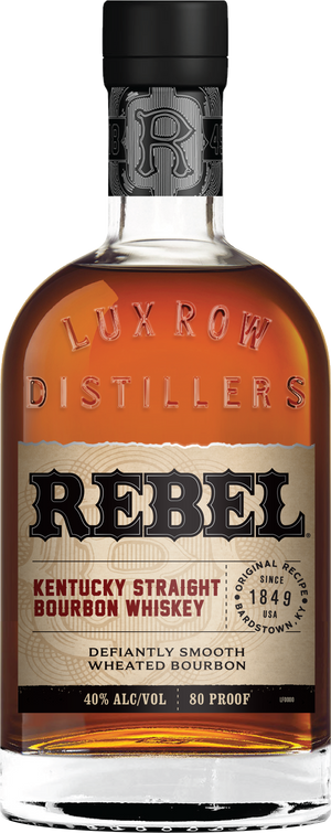Rebel Kentucky Straight Bourbon Whiskey 80 Proof - CaskCartel.com