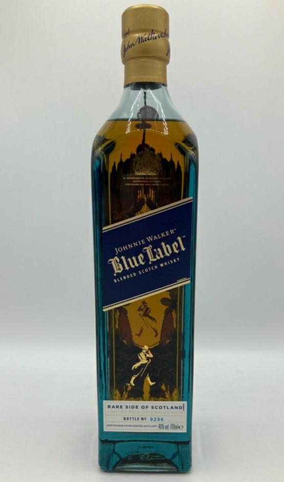 Johnnie Walker Blue Label Rare Side of Scotland | Limited Edition Design 2019
