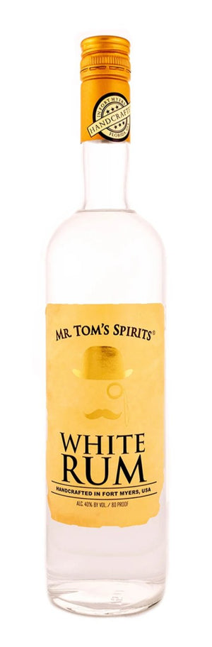 Mr. Tom's Spirits White Rum  - CaskCartel.com