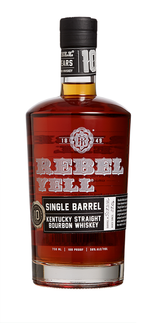 Rebel Yell 10 yr Kentucky Straight Bourbon Whiskey Single Barrel - CaskCartel.com