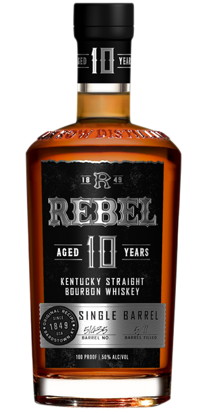 Rebel 10 yr Kentucky Straight Bourbon Whiskey Single Barrel - CaskCartel.com
