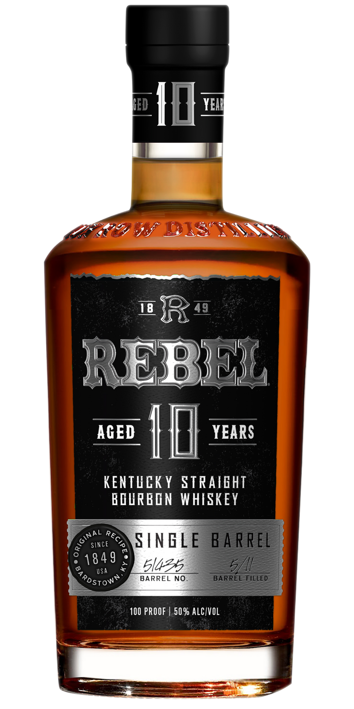 Rebel Yell 10 Year Old Single Barrel Kentucky Straight Bourbon Whiskey