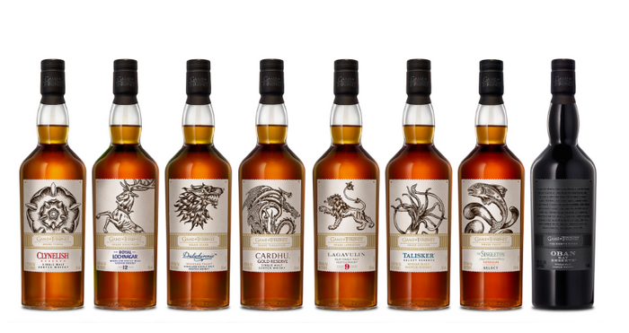 GAME OF THRONES | Entire 8 Single Malt Whisky Collection -Limited Edition